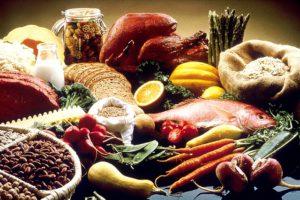 healthy food variety
