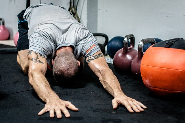 kettlebell stretching