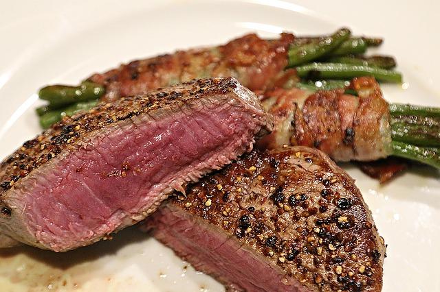 steak closeup
