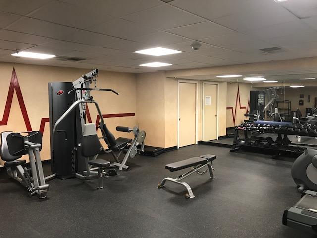hotel gym pic